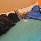 ...und auch der Rucksack findet noch seinen Platz neben der Matte