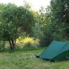 Camping vom Feinsten: Komfortabel und trotzdem einsam.