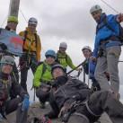 Gipfelglück auf der Westlichen Karwendelspitze