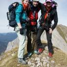 Gipfelglück auf dem Mittenwalder Höhenweg