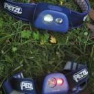 Stirnlampe Petzl Tikka+ - unterschiedliche Leuchtmodi