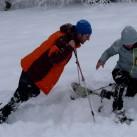 Stockbruch- und Schneeschuhtest in Thüringen 2013