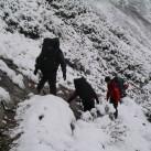 Wintereinbruch im Karwendel - Darauf verzichten wir dieses Jahr gern