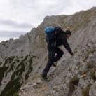 Auch leichte Kletter- und Geröllpassagen sind kein Problem mit dem Terrex Scope GTX von Adidas