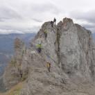Auch auf dem Klettersteig zur Karwendelspitze: Top-Leistung des Adidas Terrex Scope GTX
