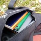 Wizard 27: Fronttasche - flexibel und passgenau für kleine Bücher, Notizbücher etc.
