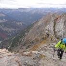 Klettersteigset-Test im Karwendel: Auf der Karwendelspitze
