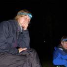 Abends bei den Auswertungsrunden auf dem Zeltplatz schützten die Lithang Jackets perfekt vor dem wiederkehrenden Regen