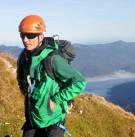 Los geht's in der morgendlichen Frische: Einstieg zum Mittenwalder Höhenweg