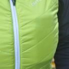 Vest Piz Lischana:  ...wird die Weste geschlossen, wird es eng in der Brusttasche mit Smartphone.