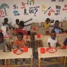 Schule und Betreuungsraum für die Kinder