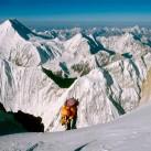 Gasherbrum II 2001-direkt am Einstieg in den Gipfelgrat