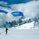 Patagonien Expedition 2009 - Viel zu selten ließen es die Bedingungen zu, übers Inlandeis zu gleiten