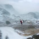 Gepäcktransport auf der Patagonien - Expedition 2009 - Inlandeis: Stürmisch ging es zu und das über viele Tage hinweg. Eben Patagonien...