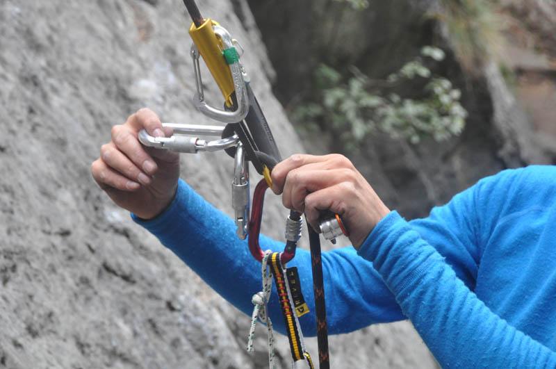 Klettersteigset Mit Seilklemme : Ausrüstung reiseberichte & informationen test grivel a&d