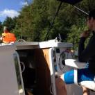 Mit dem Hausboot in den Masuren