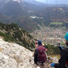 Bach Shield 38 - für die Tagestouren im Karwendel vollkommen ausreichend