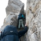 Bach Shield 45: Robustes Material und kein Problem bei intensivem Felskontakt im Klettersteig