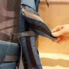 Bach Shield - Die Klettbefestigung der Tasche auf dem Schultergurt