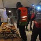 Miriquidi 2015: 24 Stunden-Rundumversorgung gab es sowohl im Startzelt, als auch für alle, die die strecke nicht verlassen wollten, im Wechselgarten