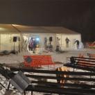 Miriquidi 2015: Keiner wollte sich am Feuer aufhalten, alle hatten sich ins Wechselzelt verzogen