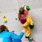 Sächsischer Kinder- und Jugendcup im Bouldern: Wenn der Vater mit der Tochter ... Nyima