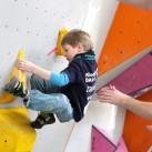 Sächsischer Kinder- und Jugendcup im Bouldern: Volle Konzentration bei Nick