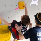 Sächsischer Kinder- und Jugendcup im Bouldern: Die Hände griffbereit für den Fall der Fälle