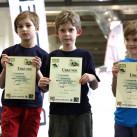 Sächsischer Kinder- und Jugendcup im Bouldern: Die Freunde zusammen in der Jugend E ganz vorn