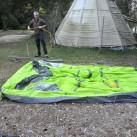 Salewa Alpine Hut IV-Aufbau