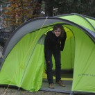 Salewa Alpine Hut IV-Dann ist die mobile Hütte bezugsfertig