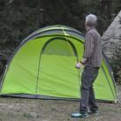 Salewa Alpine Hut IV-Zelt noch richtig abspannen...
