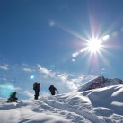 Perfekter Baselayer: Mit dem Bergans Akeleie Half Zip auf dem Weg ins Eis