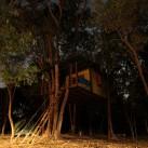 Unser Baumhaus im Klettercamp (Thailand).