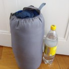 Lamina 20: Der mitgelieferte Packsack ist etwas groß...
