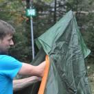 Nigor Wicki-Up 4 : Stange einführen und aufstellen