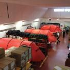 Inside Hillberg: Blick in die Fabrik in Estland (Foto: Petra Hilleberg)