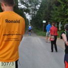 Ronald von der eXa registriert noch die Wechselzeit der Traktoristen ...