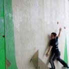 Sächsische Landesmeisterschaften Bouldern 2015 im SüdBloc: Stets an der Wand (kleben) bleiben!