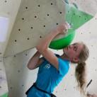 Sächsische Landesmeisterschaften Bouldern 2015 im SüdBloc: Ganz nah am Boulder - Klara