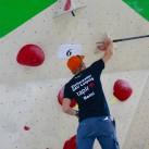 Sächsische Landesmeisterschaften Bouldern 2015 im SüdBloc: Ein Trainer hat viele Aufgaben. Auch Putzen will gelernt sein!