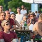 Elbsandsandsteinbouldercup 2015: ... Reini unterhält und kommentiert auch bei 30+ (°C)
