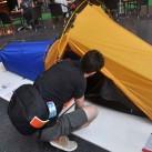 Outdoor 2015: Extrem spannend, wenn auch bisher nur als Prototyp - Schlafsystem aus der Schweiz