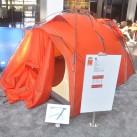 Outdoor 2015: Der neue Zeltgeodät von VauDe - Goldaward Preisträger 2015