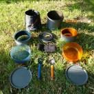 GSI Outdoors Pinnacle Dualist: Bestandteile des 2-Personen-Kochsets
