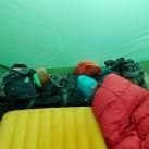 GSI Outdoors Pinnacle Dualist: Nimmt auch im Zelt kaum Platz weg