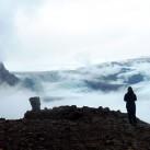 Johanna auf dem Hvannadalshnúkur (Island)