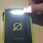Venture 30 Akkupack von Goal Zero: Rechter Knopf - Wechsel in den LED-Taschenlampenmodus
