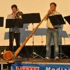 Sächsisches Blaserquintett mit Alphorn