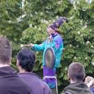 Jedes Jahr anders: Der Mann mit dem Gong